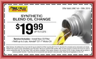 Tires Plus Oil Change Coupon