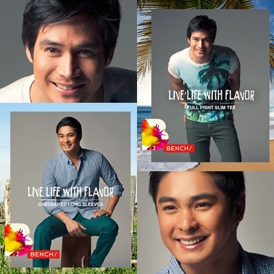 Piolo Pascual and Coco Martin for Bench Summer 2014