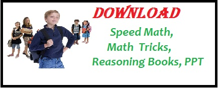 math, math tricks, math question, speed math, reasoning, reasoning books, math books