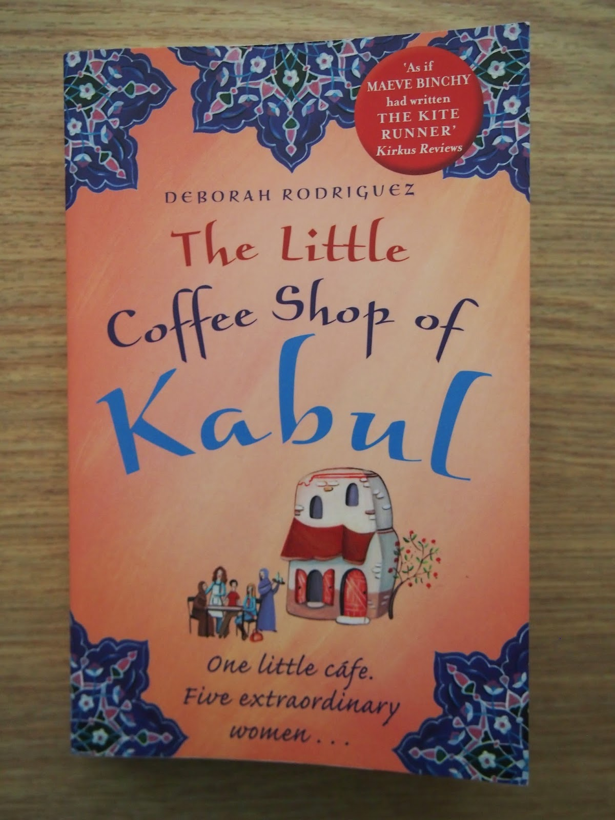 An image of the cover of the Little Coffee Shop of Kabul
