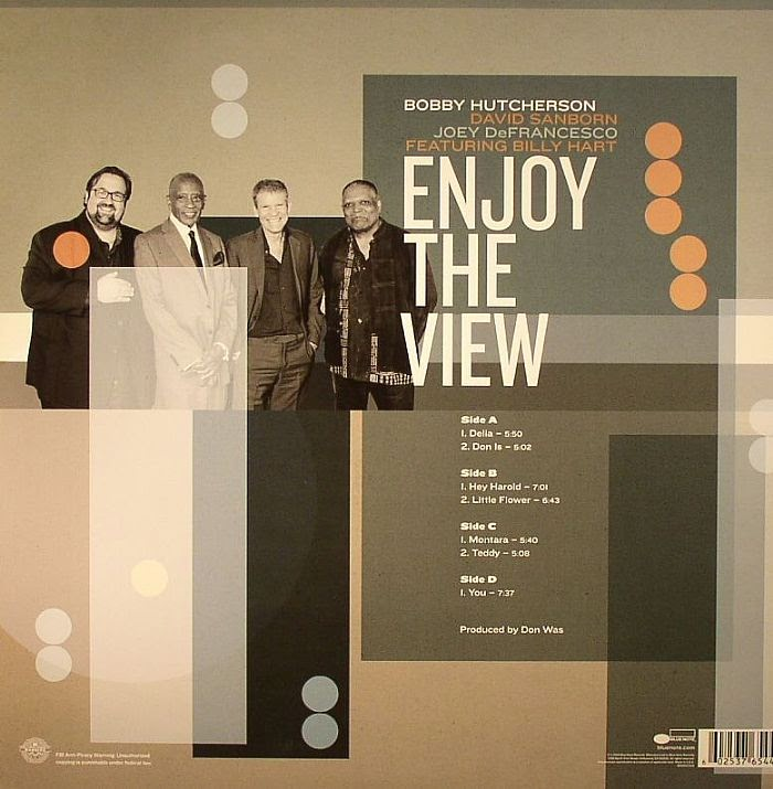 BOBBY HUTCHERSON:  ENJOY THE VIEW