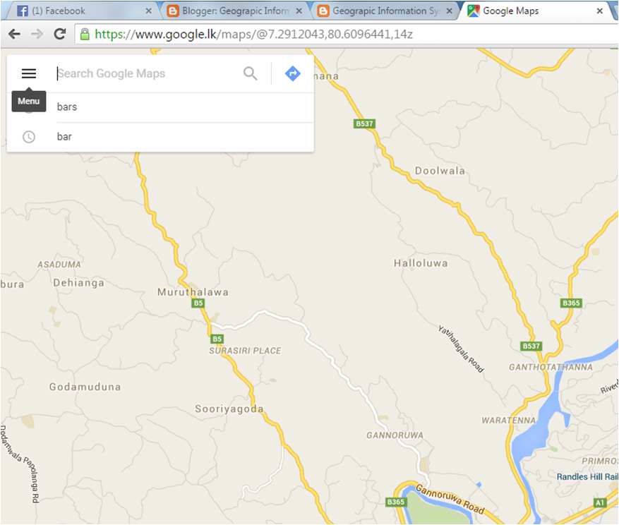 Geograpic information system for resource planing managment how select menu of the google map gumiabroncs Gallery