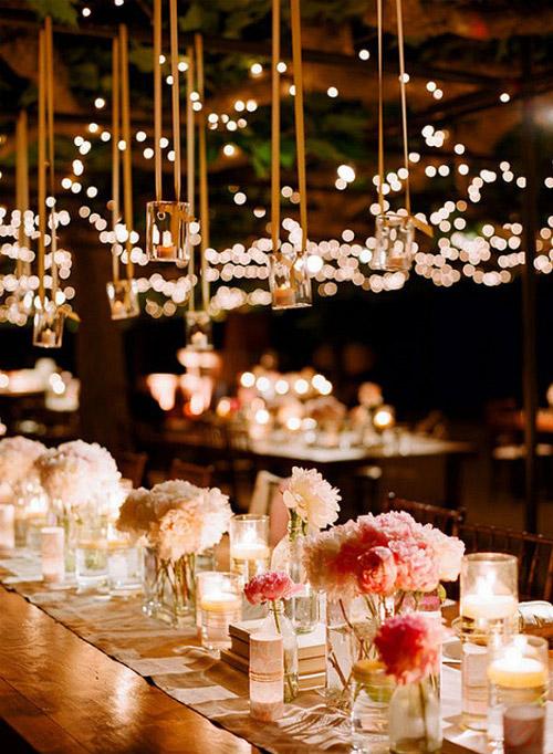 Un mar de bodas: fantásticas ideas para la iluminación