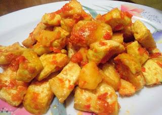 resep sambal tahu goreng