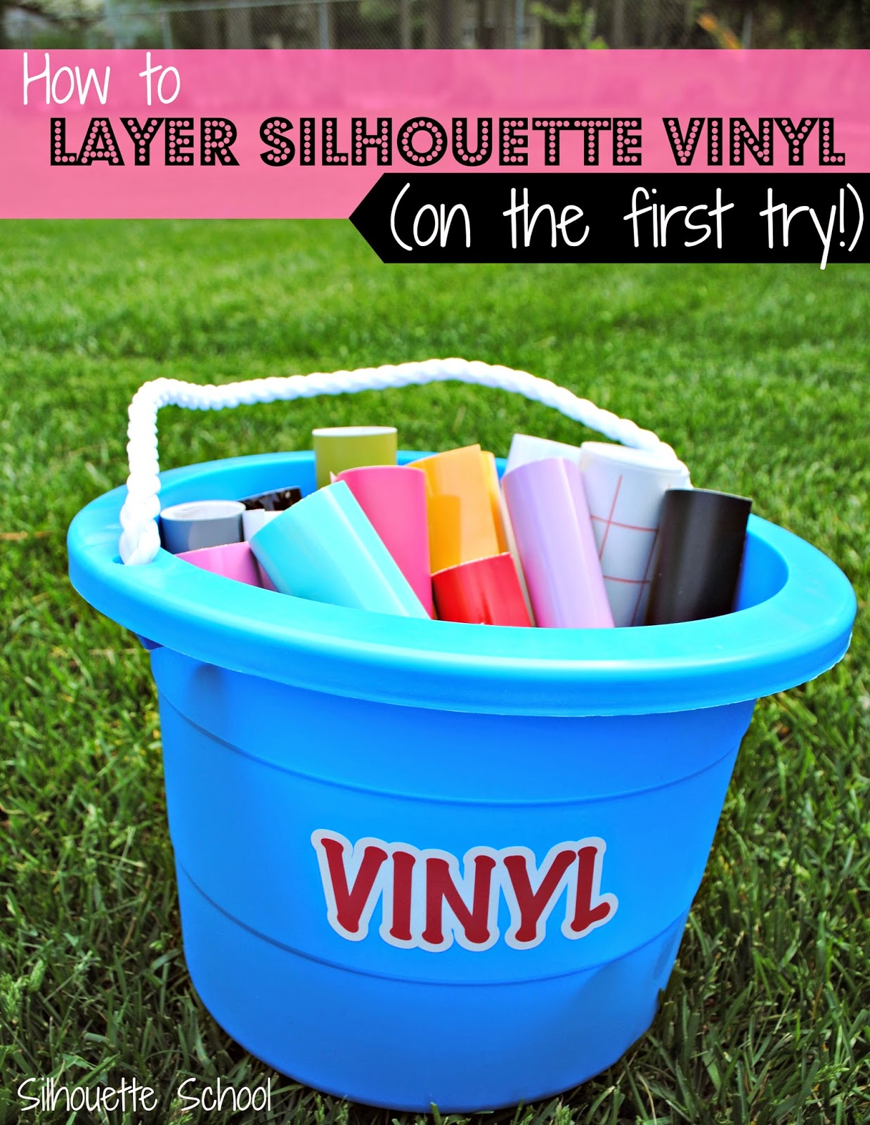 Silhouette Layering Vinyl Tutorial The No Fail Method