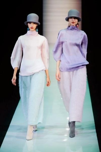 Emporio Armani AW 2013 Furry Pants 9 Looks