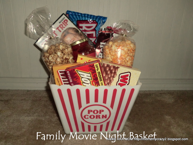 Wedding Movie Gift Basket : ... help you pack.: First Comes the Wedding ... Family Movie Night Basket