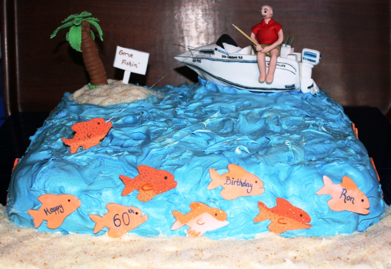 Kerries Kreations A High Sea Fishing Adventure Happy 60th Ron