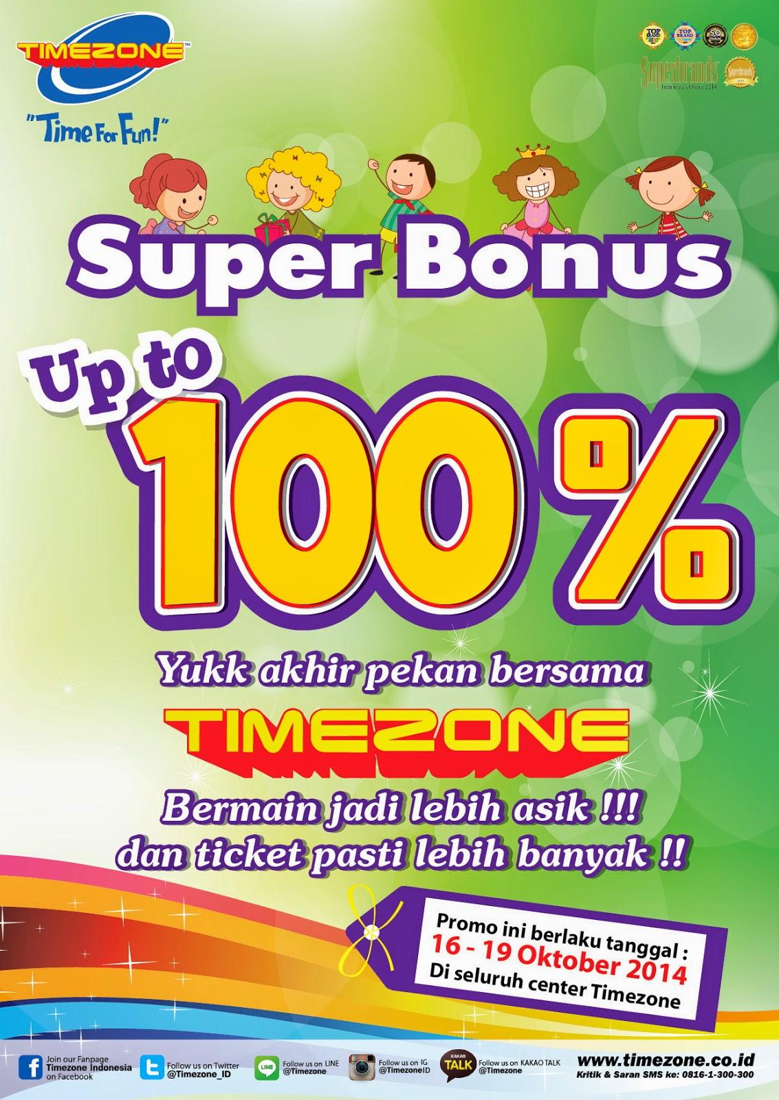 timezone bonus