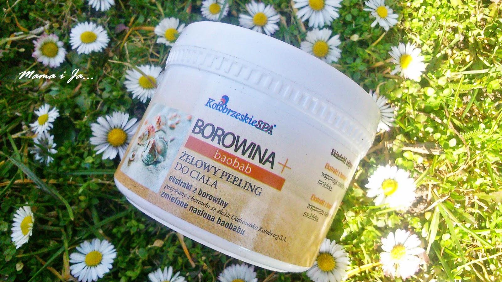 Żelowy Peeling do ciała z ekstraktem z borowiny - KołobrzeskieSpa