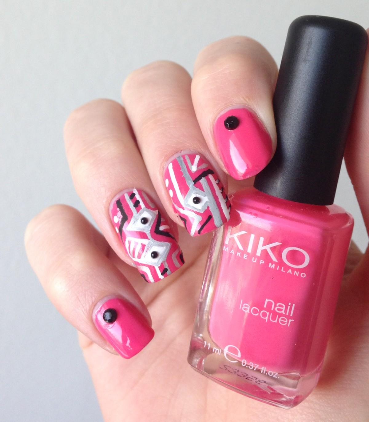 nail art rose studs