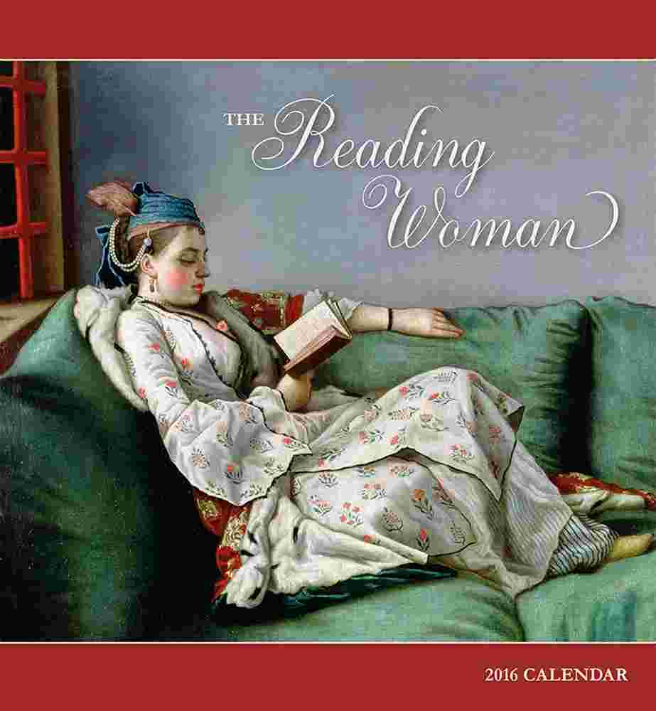 Reading Woman 2016 Wall Calendar