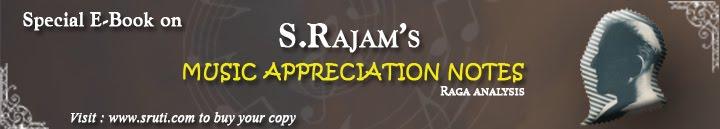 S.Rajam's (Music Appreciation notes)