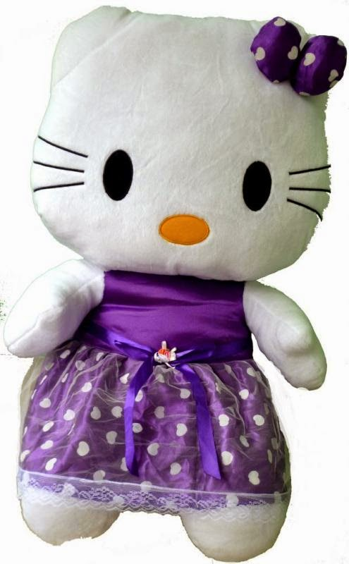 Gambar boneka hello kitty jumbo