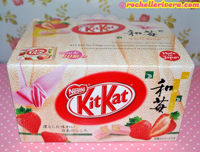 Wa ichigo strawberry kit kat rochelle rivera nestle kitkat strawberry mini 3pack voltagebd Gallery