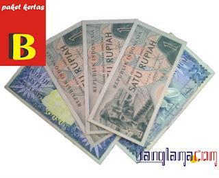 Paket Kertas 13 Rupiah B