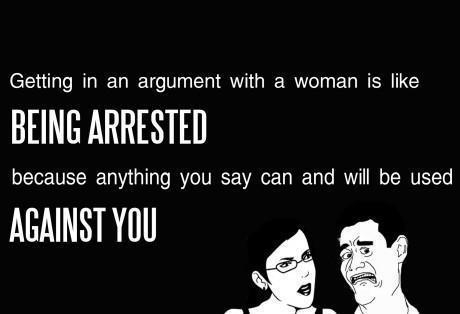 Argument With Woman
