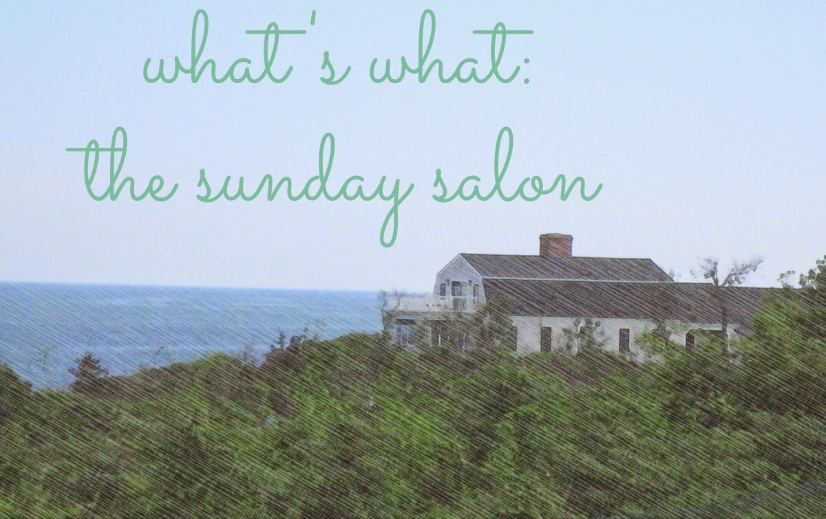 """What's What"" updates in the Sunday Salon"