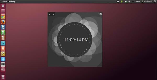 ubuntu os clock