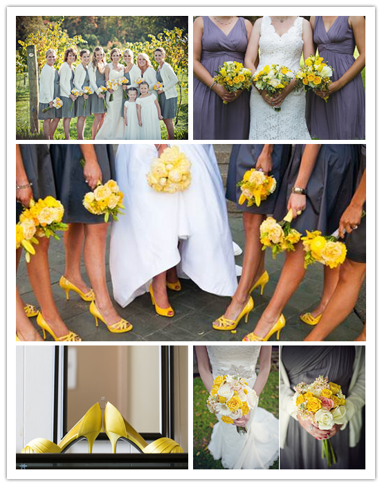 Brideindream Yellow The Wedding Theme Of This Spring