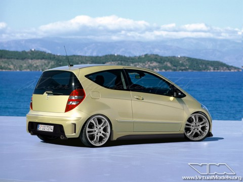 cool wallpapers mercedes benz a class w169. Black Bedroom Furniture Sets. Home Design Ideas