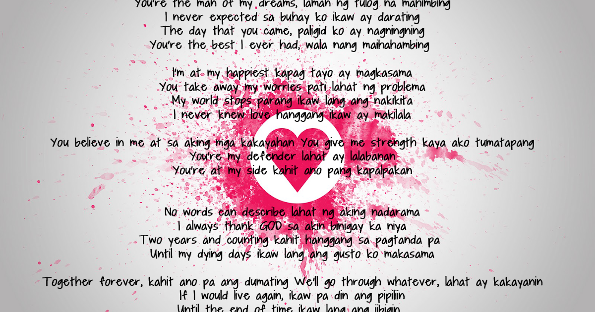 First Monthsary Message for your Boyfriend | Pinoy Qoutes ...