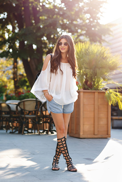 outfit sandali gladiatore sandali gladiators come abbinare i sandali gladiator come abbinare i sandali alla schiava scarpe estate 2015 tendenze scarpe estate 2015 how to wear high gladiator sandals high gladiator sandals outfit summer shoes fashion blog italiani blog di moda color block by felym fashion blog italiani fashion blogger italiane blogger italiane di moda