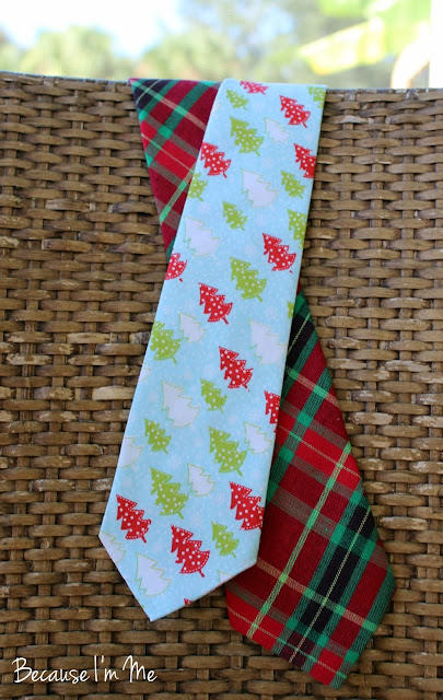 Because I'm Me Christmas ties, bow and neck ties available in boys and mens sizes
