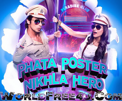 Poster Of Bollywood Movie Phata Poster Nikla Hero (2013) 300MB Compressed Small Size Pc Movie Free Download worldfree4u.com