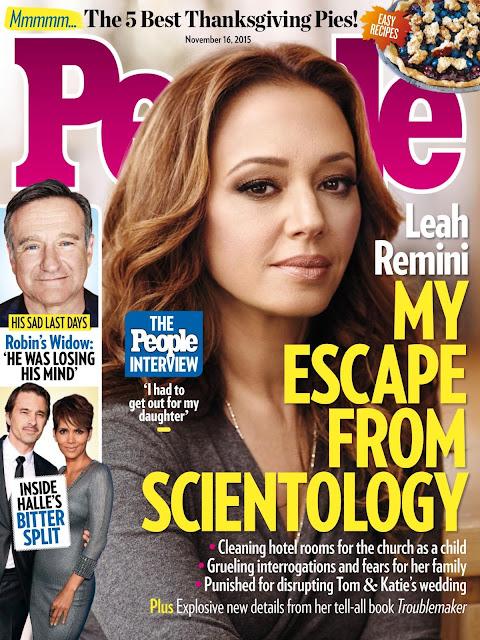 Actress @ Leah Remini  - People USA, November 2015