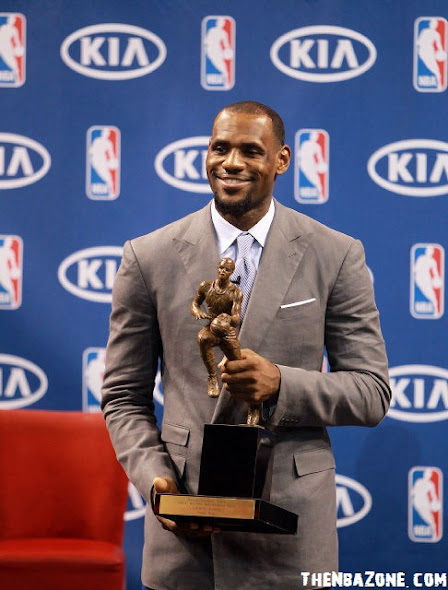 LeBron James wins MVP 2012 : NBA Most Valuable Player Award | Lebron James MVP Wallpapers and Videos