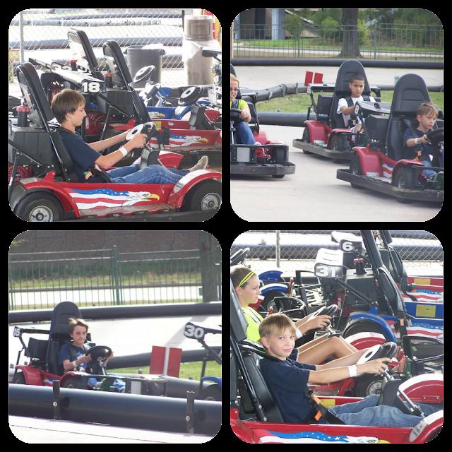 Mountasia Go Kart Collage