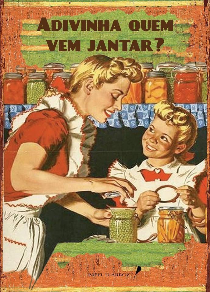 Participei na colectânea «ADIVINHA QUEM VEM JANTAR?» com o conto «A OUSADIA DE MAGNÓLIA»
