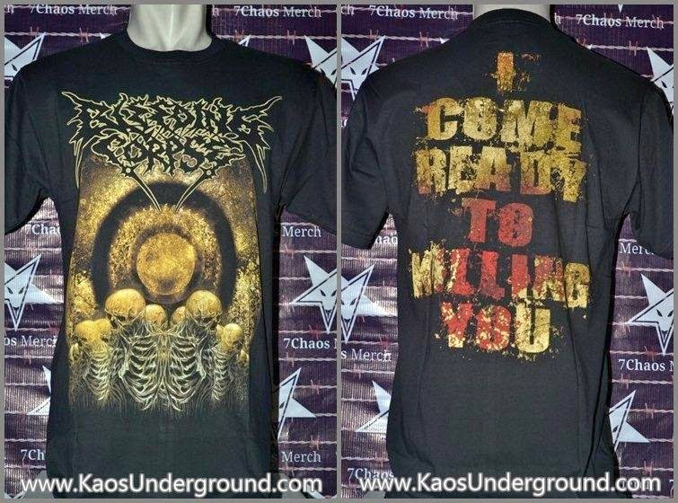 bleeding corpse riotic kaos underground 7chaos merch