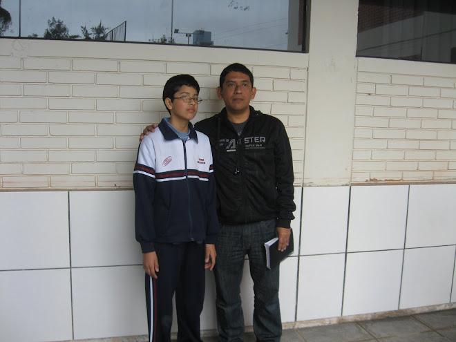 MARCO ANDRE PEÑA GARCIA ES EL NUEVO CAMPEON NACIONAL EN LA CATEGORIA I DE LA VI O.P.B. 2011.