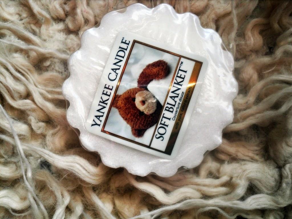 Mój pierwszy wosk / Yankee Candle Soft Blanket