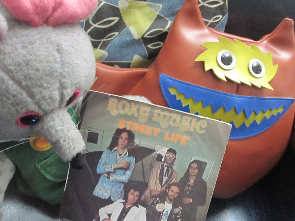 ROXY MUSIC Street life Island records / 1973 / UK