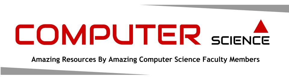 Computer Science - Amazing Resources