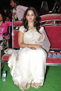 Actress Nanditha Raj Picture Gallery in Saree at Krishnamma Kalipindi Iddarini Movie Audio Launch  2