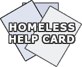 Homeless Help Card