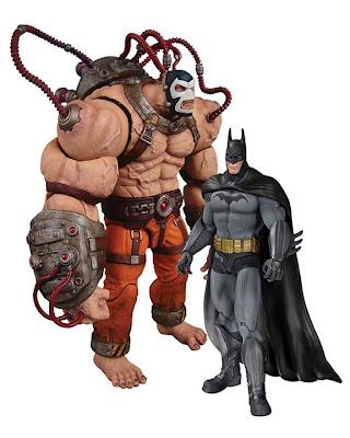 DC Collectibles Batman: Arkham Asylum - Batman & Bane Figure Set