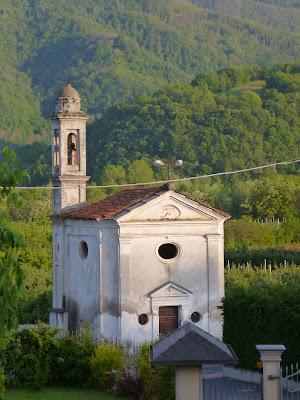 Scenes Around Villanova Mondovì: A Cappella, Lime Trees, Main Church