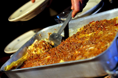 Lasagne Bolognesi at Borgo Argenina in Gaiole in Chianti, Italy - Photo by Taste As You Go