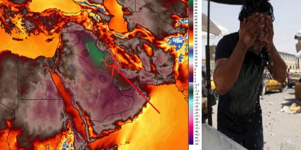 ثاني أعلى درجات الحرارة في العالم