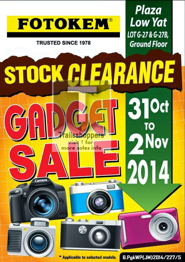 Fotokem Gadget Sale Stock Clearance offer