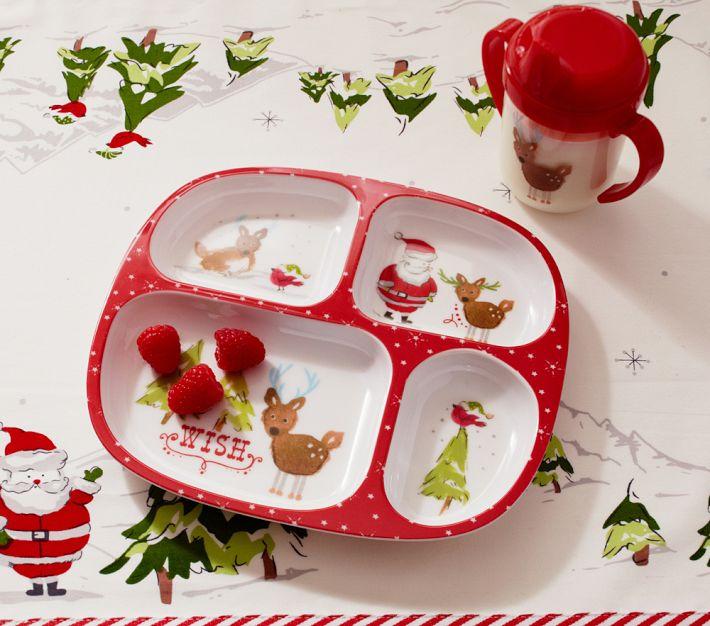 Web de la navidad platos y vasos especiales para navidad for Vajillas para navidad