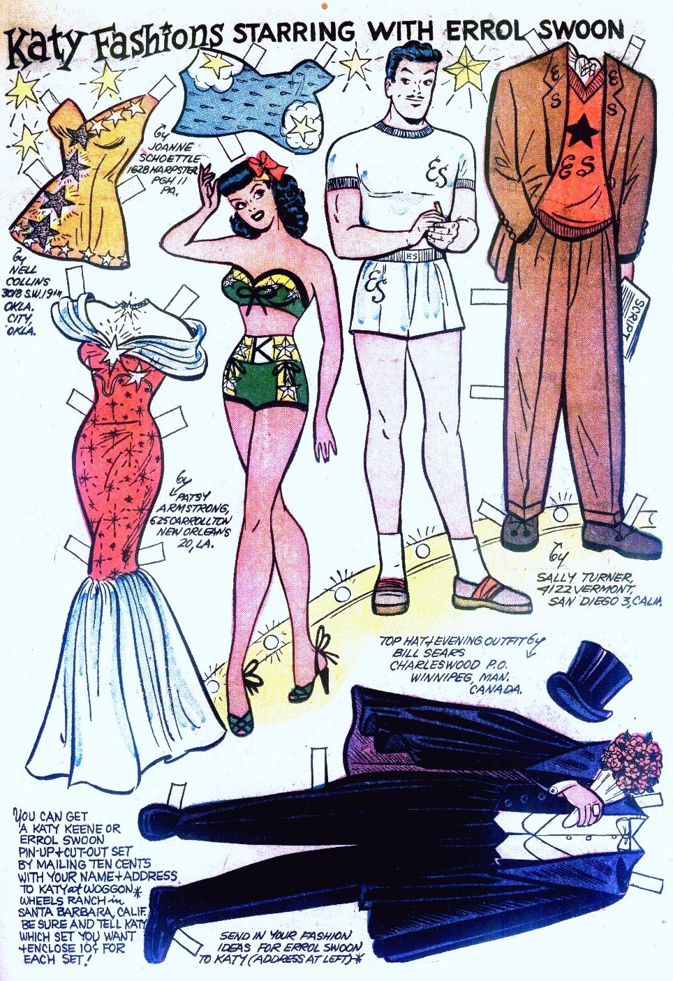katy keene paper dolls Paper dolls of classic stars, vintage fashion and nostalgic characters katy keene paper dolls - limited edition [queen of the comics] - our favorite fashionable.
