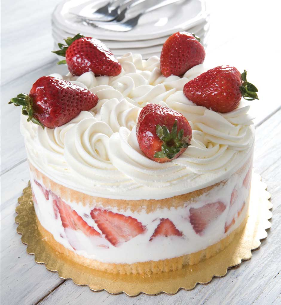 The French Bakery Strawberry Cake