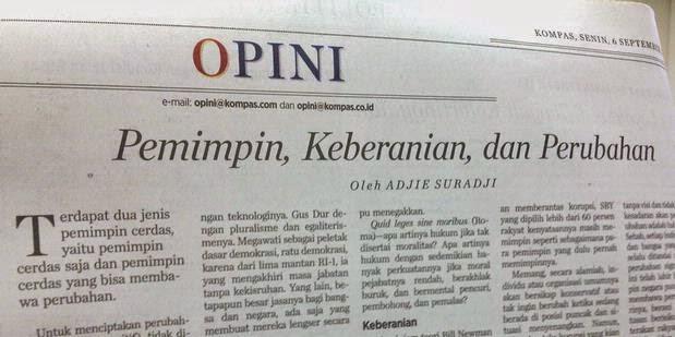 opini koran, tips menulis opini, tips supaya tulisan dimuat di koran