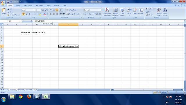 Wahyudin Fungsi String Pada Microsoft Excel